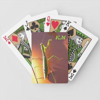 Praying Mantis Deck Bicycle Playing Cards