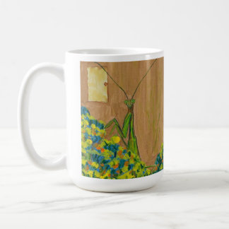 Praying Mantis Door Fine art acrylic printed Coffee Mug