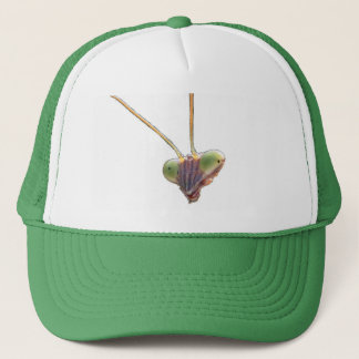 Praying mantis trucker hat