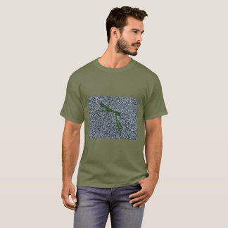 Praying Mantis Walking on Sidewalk Tee Shirts