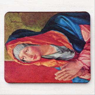 Praying Mary By Albrecht Dürer Mouse Pad