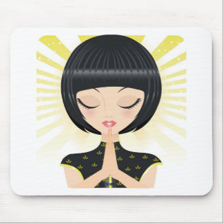 Praying Mouse Pad