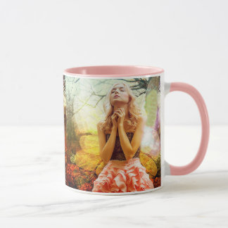 Praying Mystical Spiritual Angel Coffee Mug