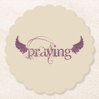 Praying Paper Coaster