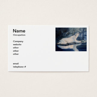 Praying Polar Bear Business Card