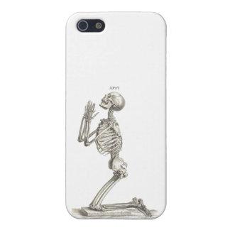 Praying skeleton iPhone 5/5S covers