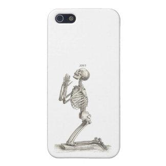 Praying skeleton iPhone 5 cover