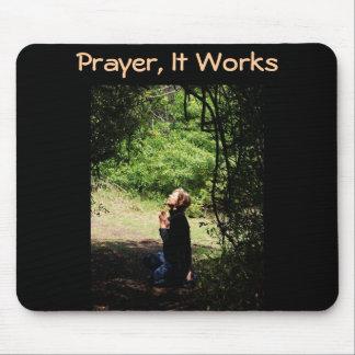 Praying Woman Mouse Pad