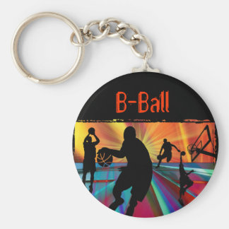Pre-Game Warmup Zoom Perspective Basic Round Button Key Ring