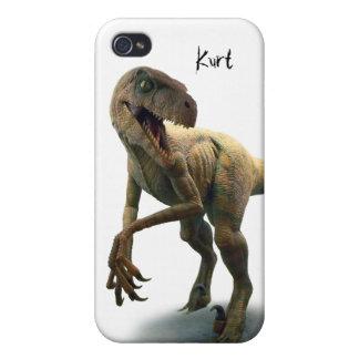 Pre-Historic Dinosaur Custom Case For The iPhone 4