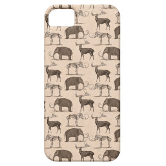 Pre-Historic Mammals Megaceros and Woolly Mammoth iPhone 5 Cases