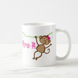 Pre-k Teacher Monkey Gift Coffee Mug