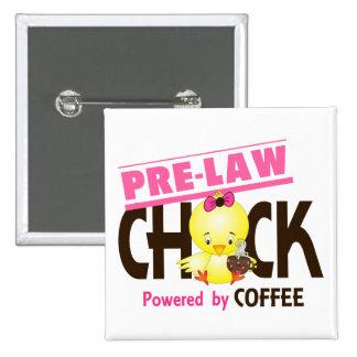 Pre-Law Chick 4 15 Cm Square Badge