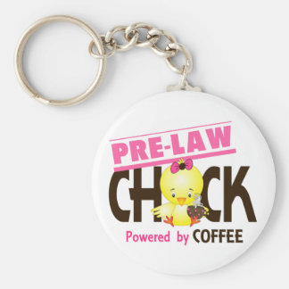 Pre-Law Chick 4 Keychains