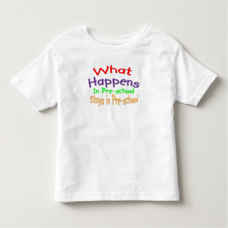 Pre school toddler T-Shirt