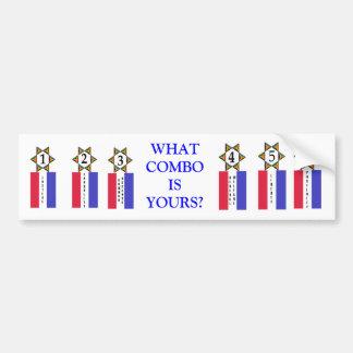 Preamble Tags Bumper Sticker