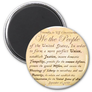 Preamble to Constitution H Magnet