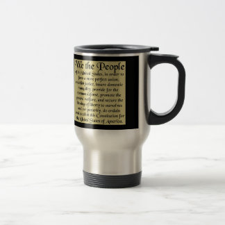 Preamble To The Constitution Mug
