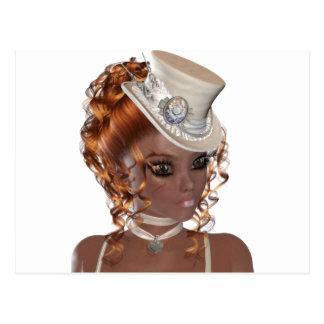 Precious African American Woman Postcard
