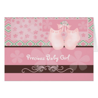 Precious Baby Girl Card