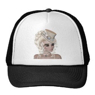 Precious Blond Woman Cap