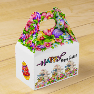 Precious Bunny Easter Container - See Reverse Favour Box