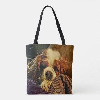 Precious Cavalier King Charles Spaniel Doggy Tote