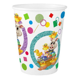 Precious Easter Party Goods Paper Cups