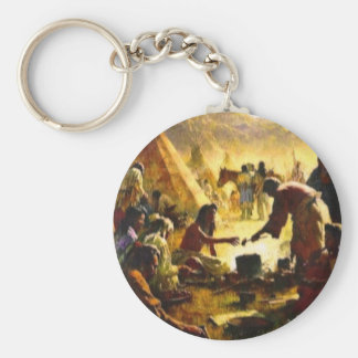 PRECIOUS GIFTS COLLECTION BASIC ROUND BUTTON KEY RING