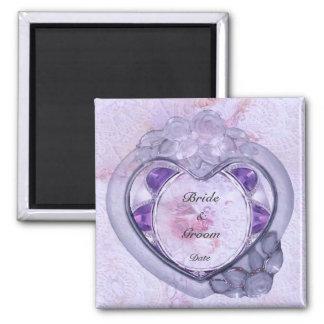 Precious Heart Wedding Favor Magnet