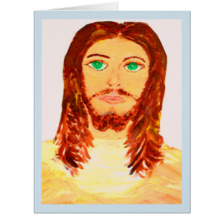 Precious Jesus Blank Note Card