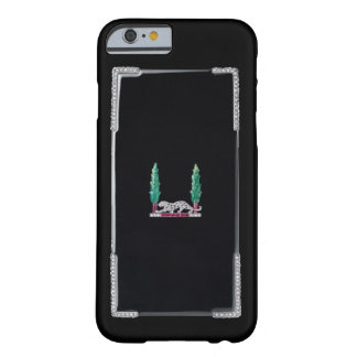 PRECIOUS JEWELS Deco Diamond Panther Print Barely There iPhone 6 Case