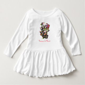 Precious Lil Flower toddler dress
