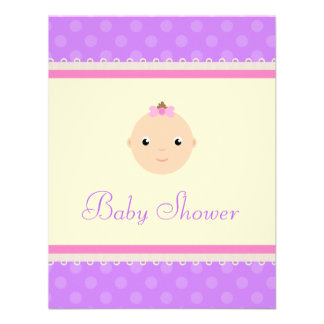 Precious Lil One Baby Shower Invitations