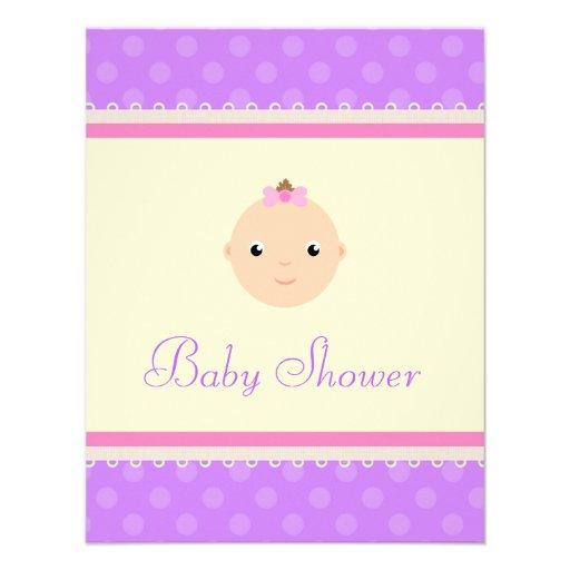 Precious Lil One Baby Shower Invitations
