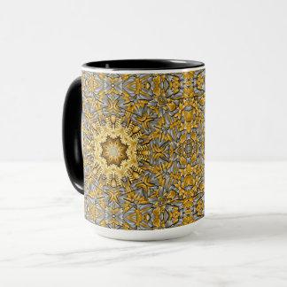 Precious Metal Vintage Kaleidoscope  Combo Mug