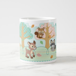 Precious Moments | Woodland Baby Pattern Large Coffee Mug