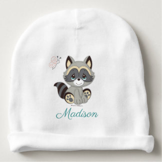 Precious Moments | Woodland Baby Raccoon Baby Beanie