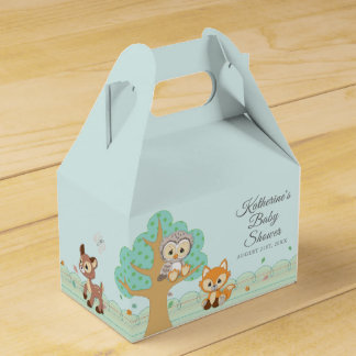 Precious Moments | Woodland Baby Shower Favour Box