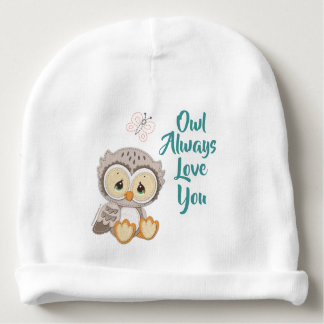 Precious Moments | Woodland Owl Always Love You Baby Beanie