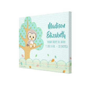 Precious Moments | Woodland Owl Always Love You Canvas Print