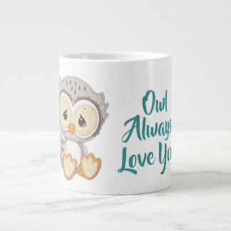 Precious Moments | Woodland Owl Always Love You Large Coffee Mug