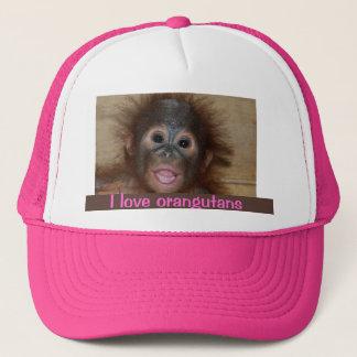 Precious Orangutan Trucker Hat