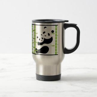Precious Panda Bears Travel Mug