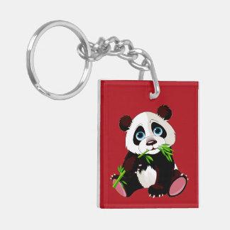 Precious Panda Keychain - See Back