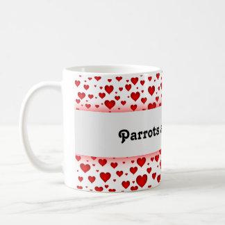 Precious Parrot Cafe Mug