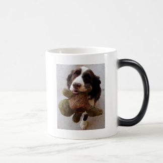 Precious Puppy Magic Mug