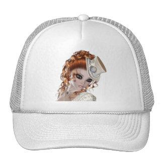 Precious Red Head Woman Cap