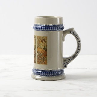 Precious Stones and Flowers Stein
