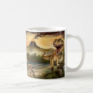 Predator Dinosaurs Basic White Mug